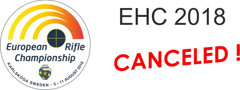 EHC 2018 IN SWEDEN HAS BEEN CANCELED